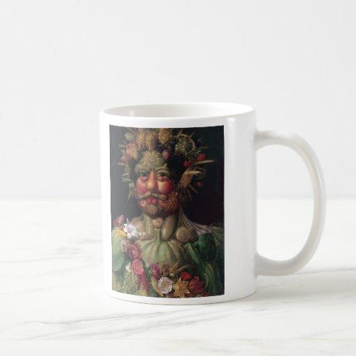 Vertumnus - Giuseppe Arcimboldo Classic White Coffee Mug