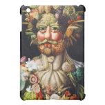 Vertumnus (retrato de Rudolf II) - Acrimboldo iPad Mini Protectores
