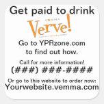 Verve Can Prospecting Sticker