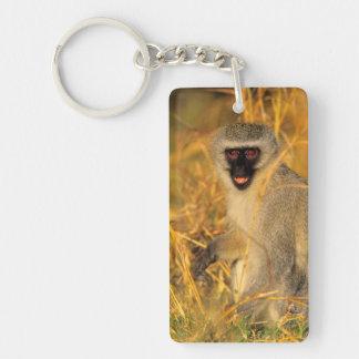 Vervet Monkey (Chlorocebus Pygerythrus) Keychain