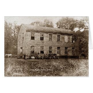Vervilla School-1889 Cards
