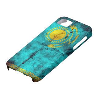 Verwitterte Kasachstan-Flagge iPhone SE/5/5s Case