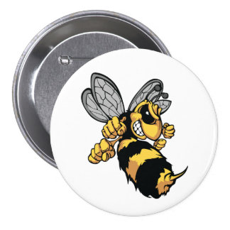 Very Angry Bee Button