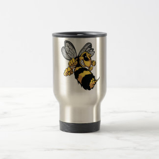 Very Angry Bee Travel Mug