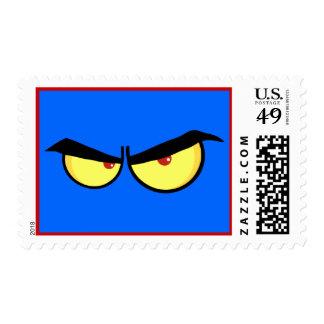 Very angry stamp