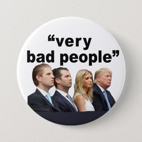 Very Bad People Button