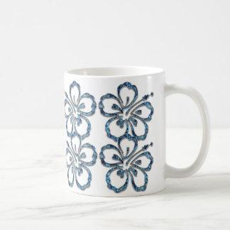 Very Beautiful blue flowers Mug