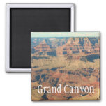 Very Beautiful Grand Canyon Magnet! 2 Inch Square Magnet