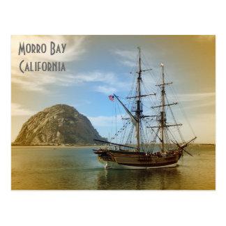 Very Beautiful Morro Bay Postcard! Postcard