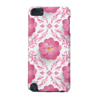 Very beautiful pink Flower Design iPod Touch 5G Cover