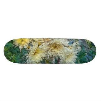 Very beautiful small yellow flowers.jpg skateboard deck