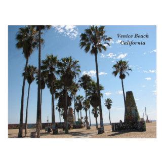 Very Beautiful Venice Beach Postcard