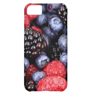 Very Berry Lover Blueberry Strawberry Blackberry Cover For iPhone 5C
