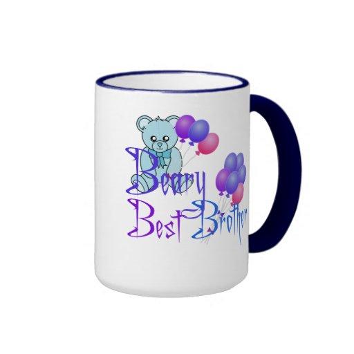 Very Best Brother Ringer Coffee Mug