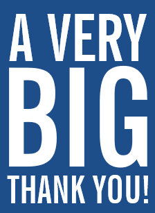 Large greeting cards customize big greetings cards today zazzle very big oversized thank you greeting cards m4hsunfo