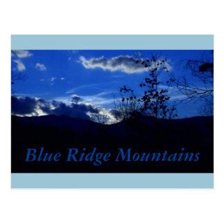 Very Blue Ridge Mountains Postcard