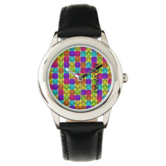 VERY BRIGHT COLORFUL WATCH  ,SO WHAT