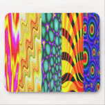 very bright plastic mouse pad mousepad
