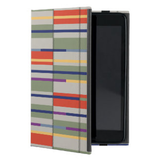 Very British graphic train and bus seat patterns Case For iPad Mini