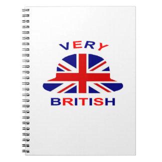 very british notebook