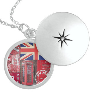 Very british sterling silver necklace