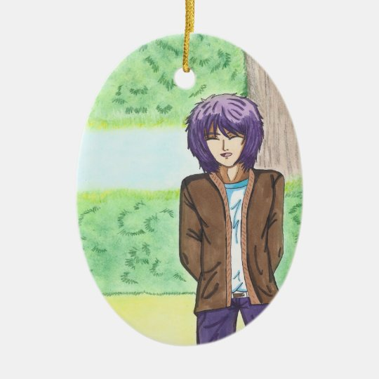 Very Charming Jake Ceramic Ornament