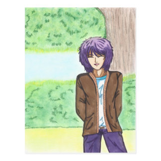 Very Charming Jake with Soft Pastel Background Postcard