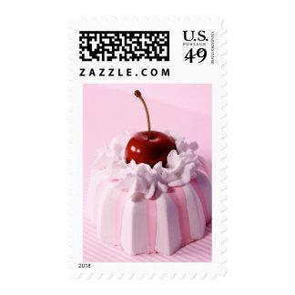 Very Cherry Bundt Cake Postage Stamp