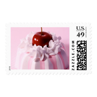 Very Cherry Bundt Cake Stamps