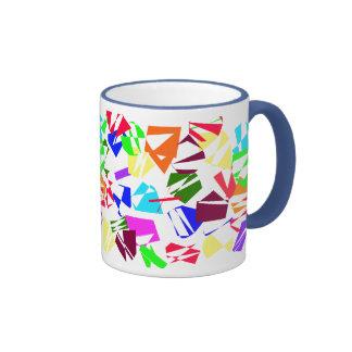 Very Colorful Shapes - Mug
