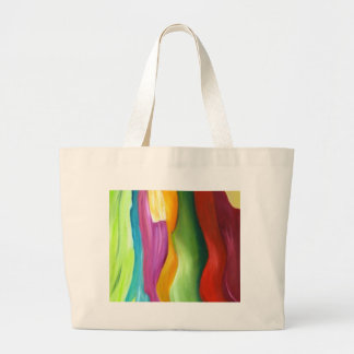 Very colorfull abstract painting. tote bag