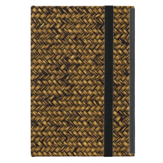 Very Cool and Interesting Basket Weave Style Print Covers For iPad Mini