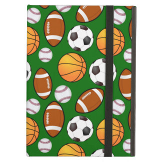 Very Cool and Special Sports Theme On turf Green Case For iPad Air