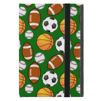 Very Cool and Special Sports Theme On turf Green Case For iPad Mini