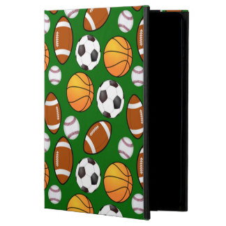 Very Cool and Special Sports Theme On turf Green iPad Air Case
