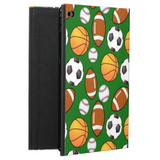 Very Cool and Special Sports Theme On turf Green Powis iPad Air 2 Case