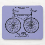 Very cool Cycling Velo Patent gift Mouse Pad