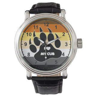 VERY COOL Gay Bear Pride Colors Wristwatch