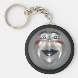 Very Cool Man On The Moon Figure Key Chain