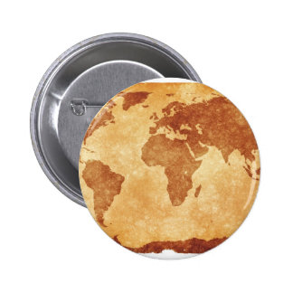 Very cool map of the world button