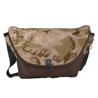 Very Cool Military Style Desert Camo Pattern Courier Bag