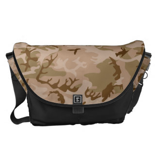 Very Cool Military Style Desert Camo Pattern Messenger Bag