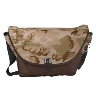 Very Cool Military Style Desert Camo Pattern Messenger Bag