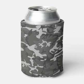 Very Cool Military Style Urban Camo Can Cooler