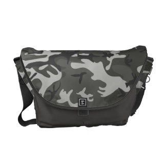 Very Cool Military Style Urban Camo Courier Bag