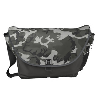 Very Cool Military Style Urban Camo Pattern Courier Bag