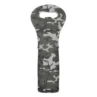 Very Cool Military Style Urban Camo Wine Bags