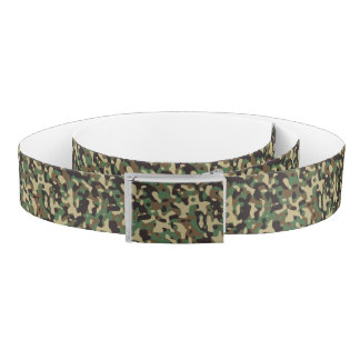 Very Cool Military Style Woodland Hunter Camo Belt