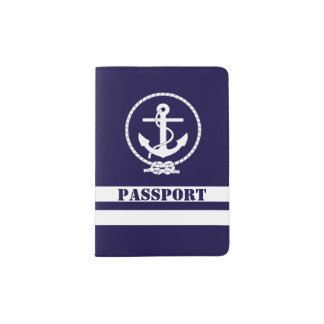 Very Cool Nautical Passport Holder