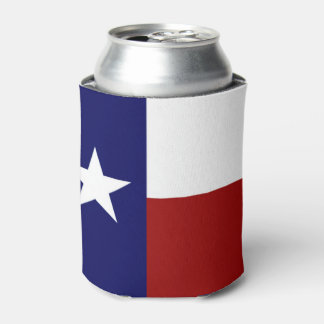 Very Cool Patriotic Texas Flag Can Cooler